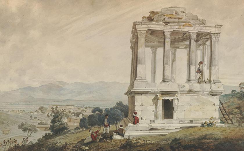 William Pars, Sepulchral Monument at Mylasa, 1764, © The Trustees of the British Museum