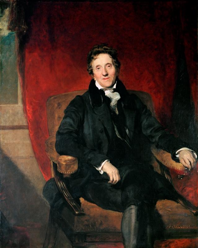 Portrait Of Sir John Soane Aged 76 Sir John Soane S Museum