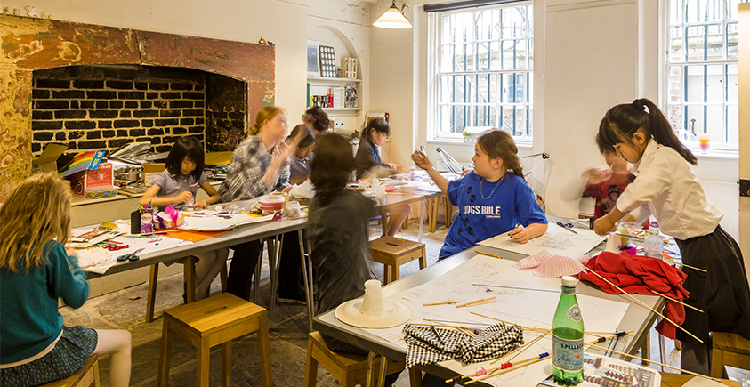 A family workshop at Sir John Soane's Museum