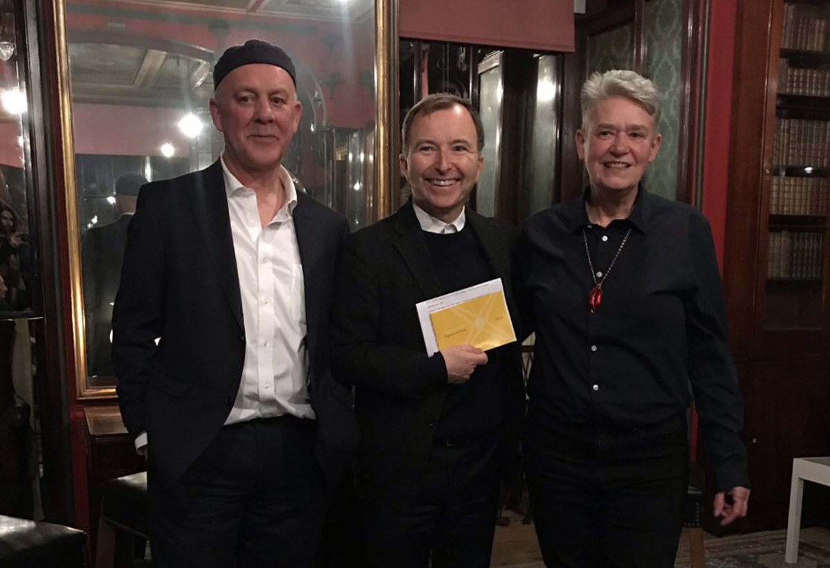 Langlands & Bell with Tony Chambers in the Soane Museum