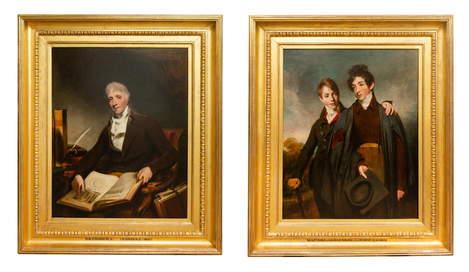 The Owen Portraits, conserved