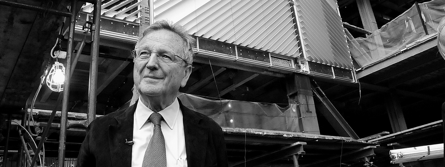 Rafael Moneo at Columbia University. Photo M Moran