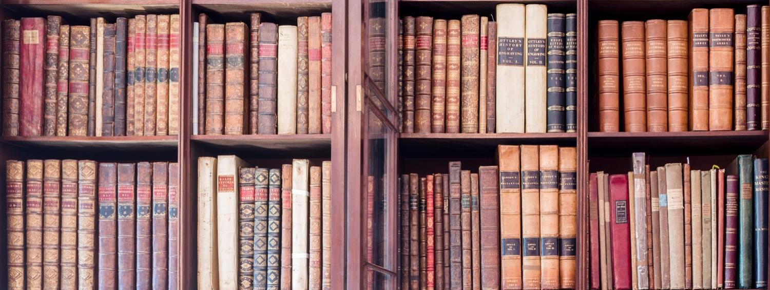 Books in the Soane Museum's Library