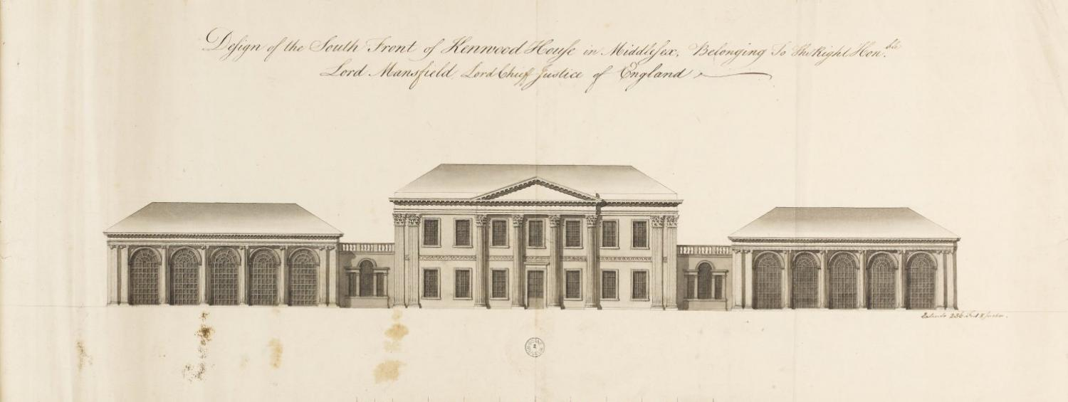 Drawing of Kenwood House