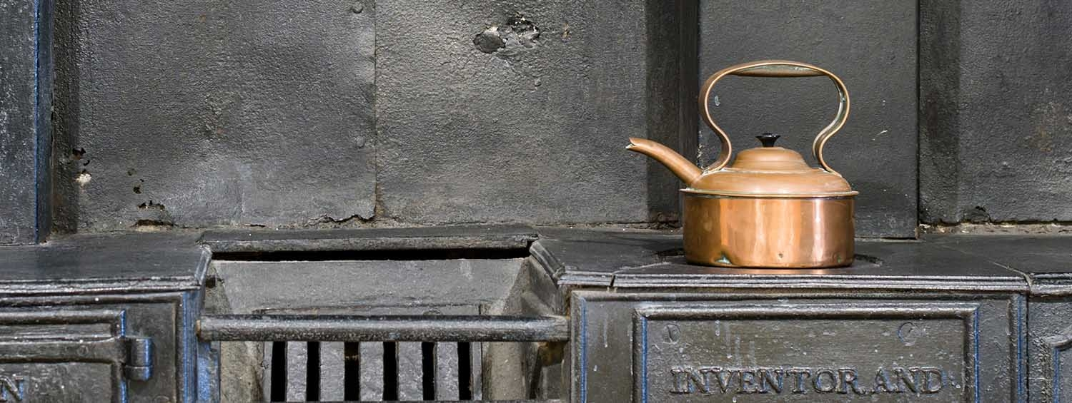 19th century kettle and range in the soane kitchen