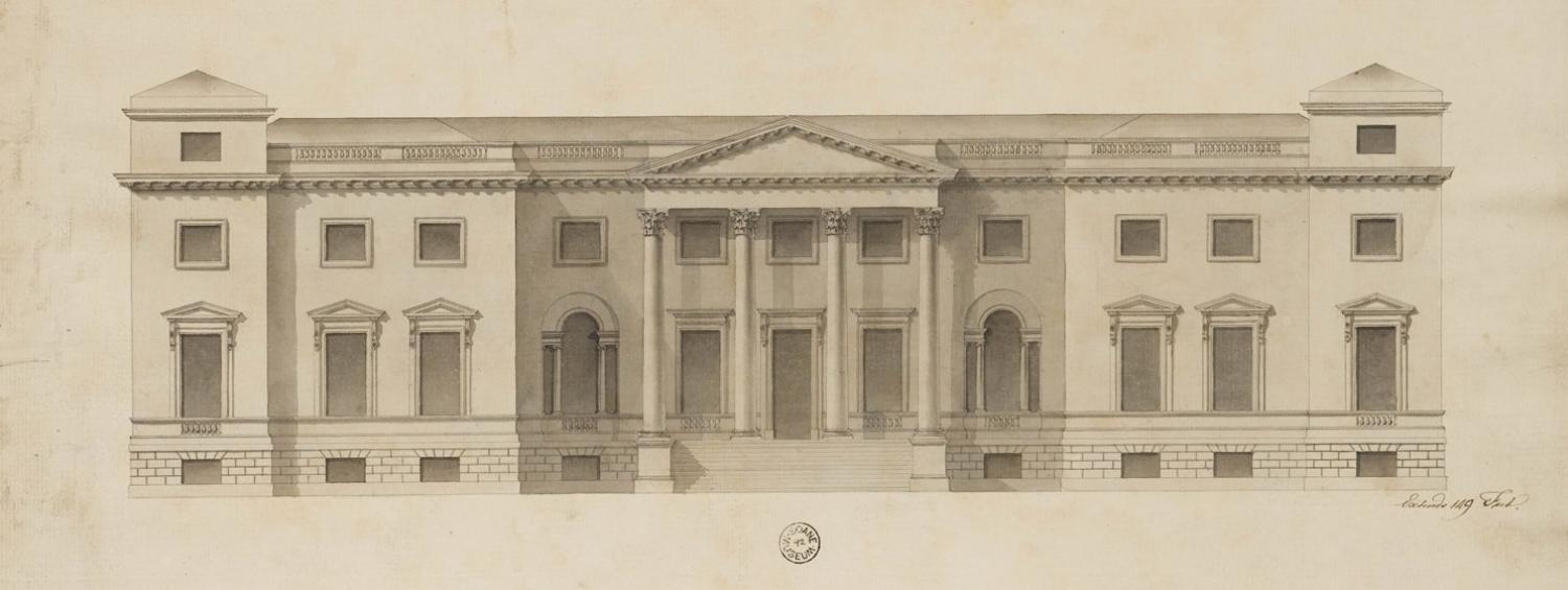 Drawing of Osterley House