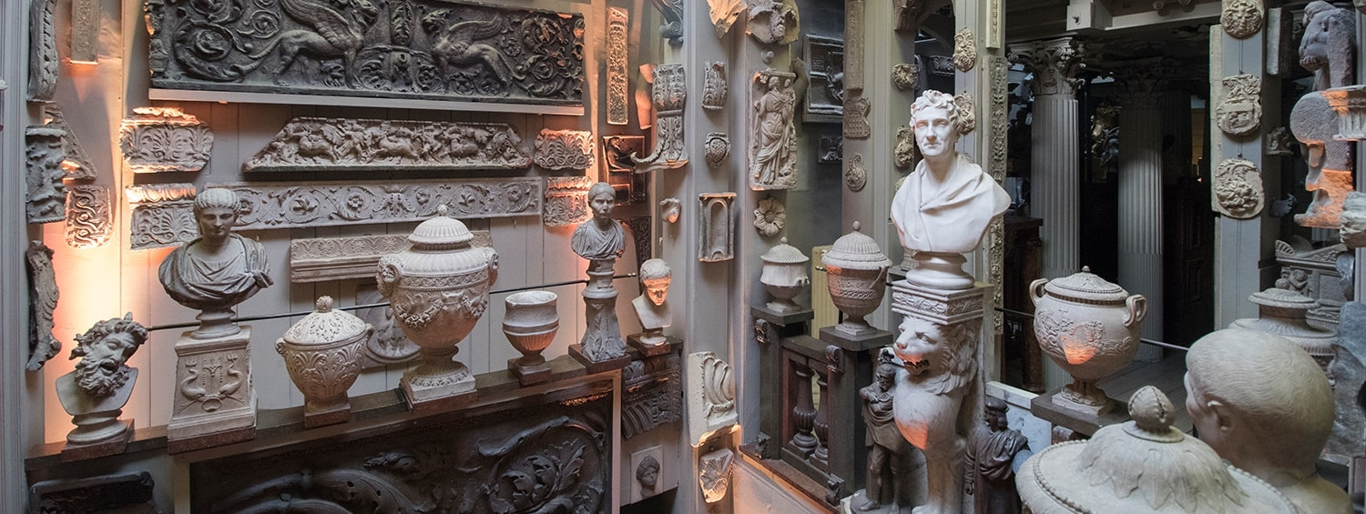 Sir John Soane's Museum after hours