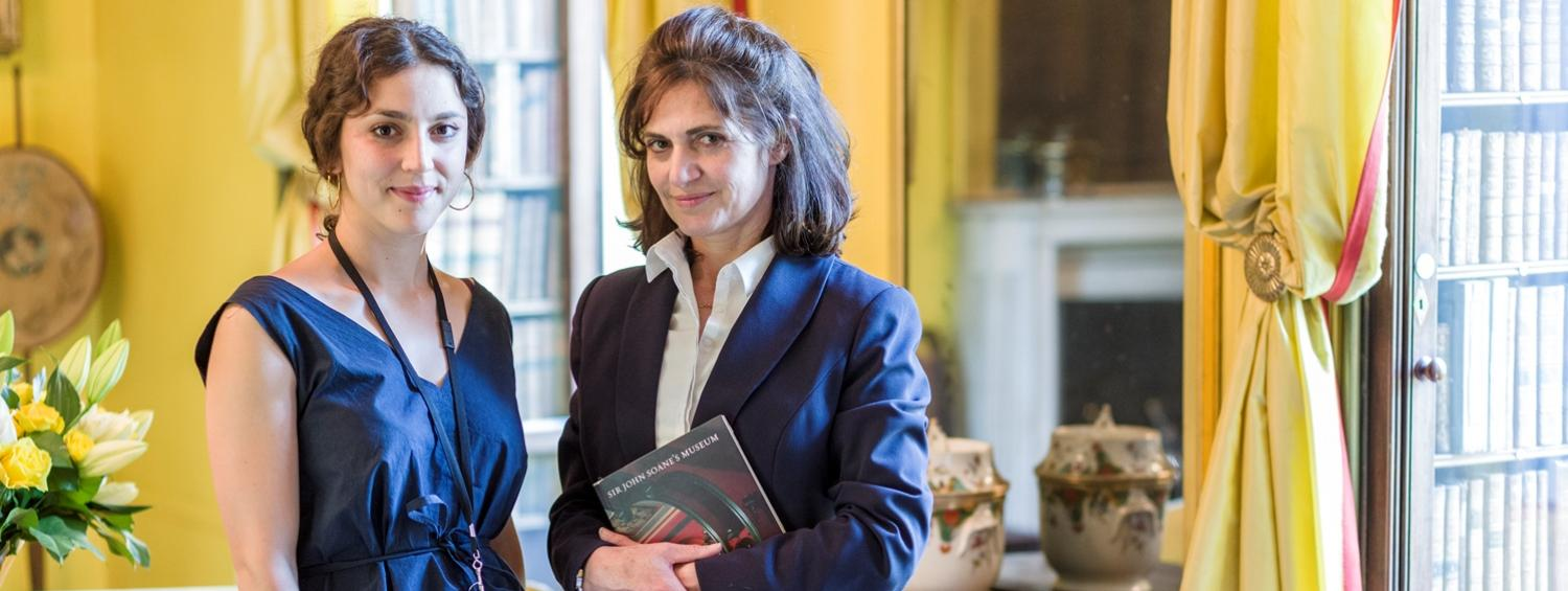 The Soane Museum Visitor Assistants in the South Drawing Room