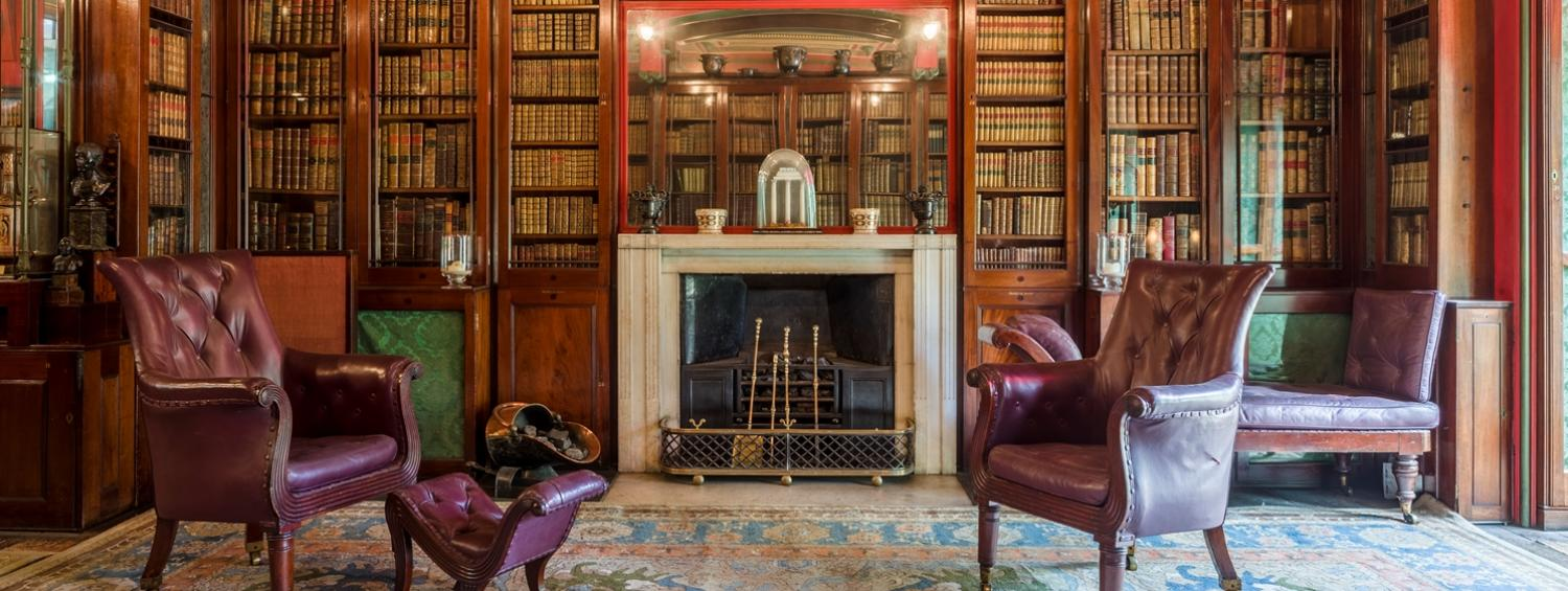 The Library Dining Room at the Soane Museum