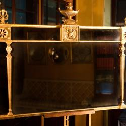 A replica mirror based on designs from the Soane Museum's Collection