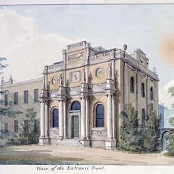 Perspective of Pitzhanger Manor