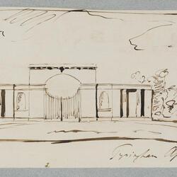 Sketch Design for Tyringham Gateway