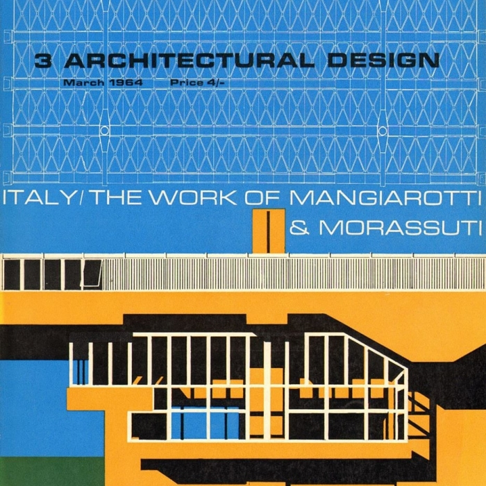 Cover of an issue of Architectural Design, March 1964