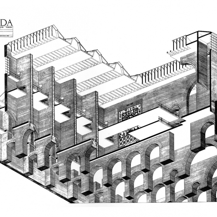 Architectural Drawing by Stan Allen
