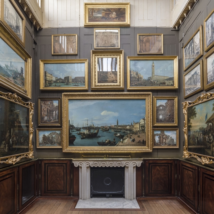 The Picture Room at Sir John Soane's Museum