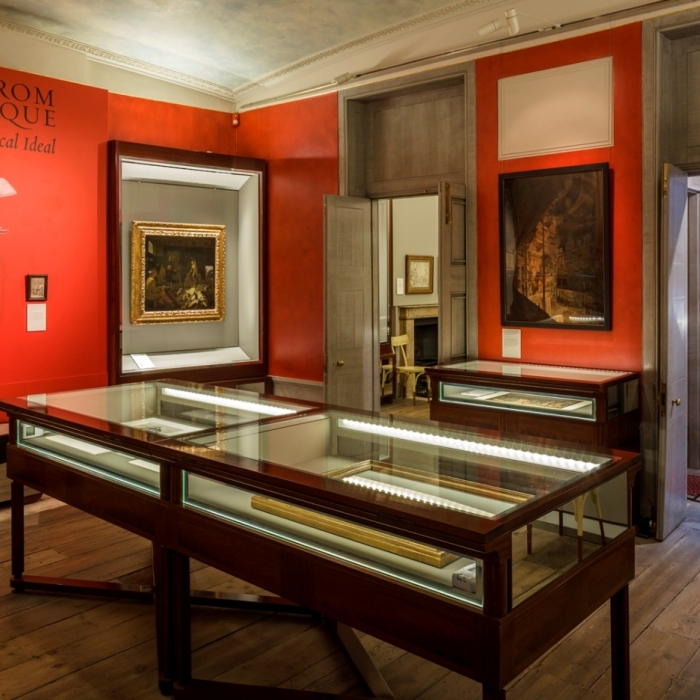 Photograph of the Soane Gallery completed as part of Phase I of OUTS