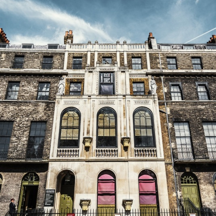The facade of the Soane Museum, Art Fund Museum of the Year finalist 2017