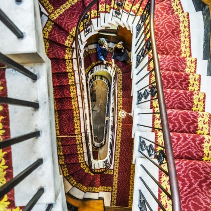 The stairs of the Soane Museum, Art Fund Museum of the Year finalist 2017
