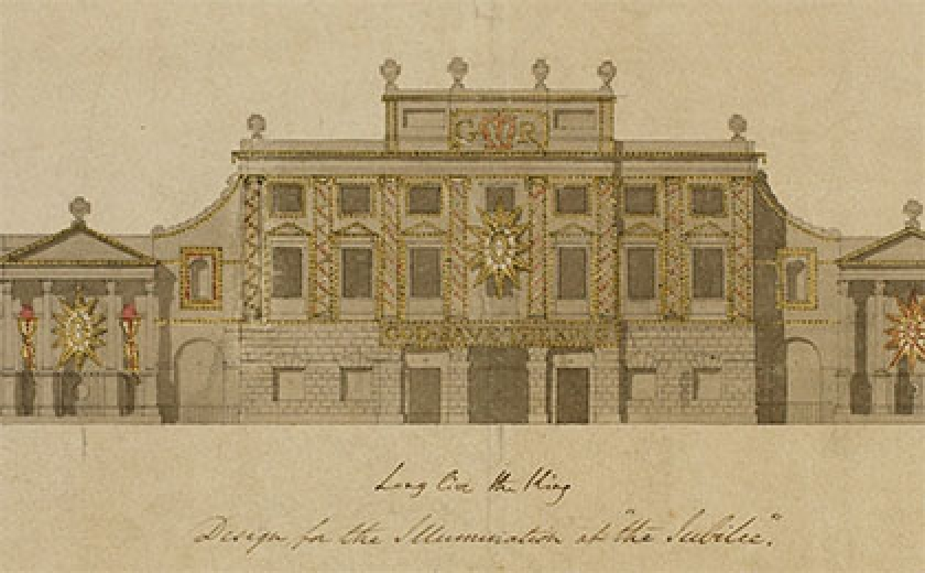 Design for the illumination at the Jubilee