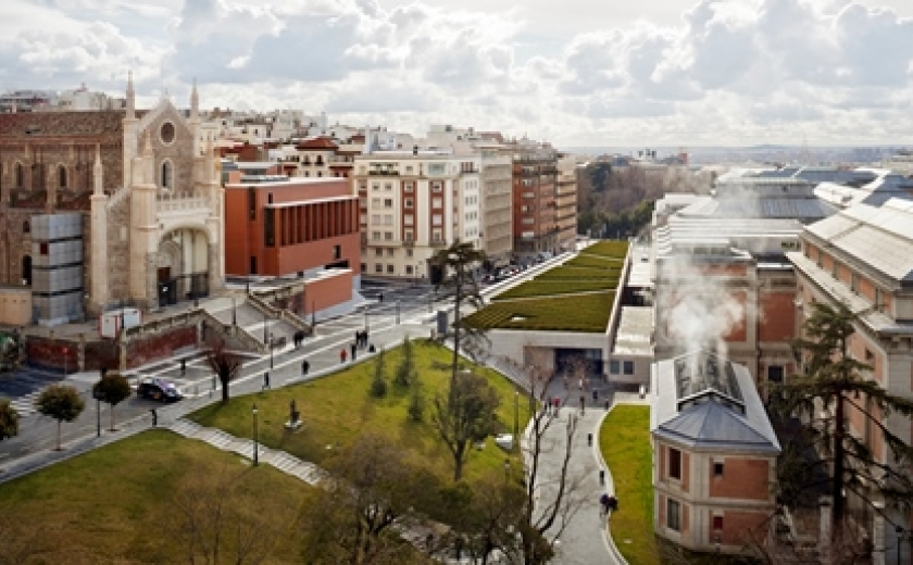 Rafael Moneo's extension of the Prado in Madrid