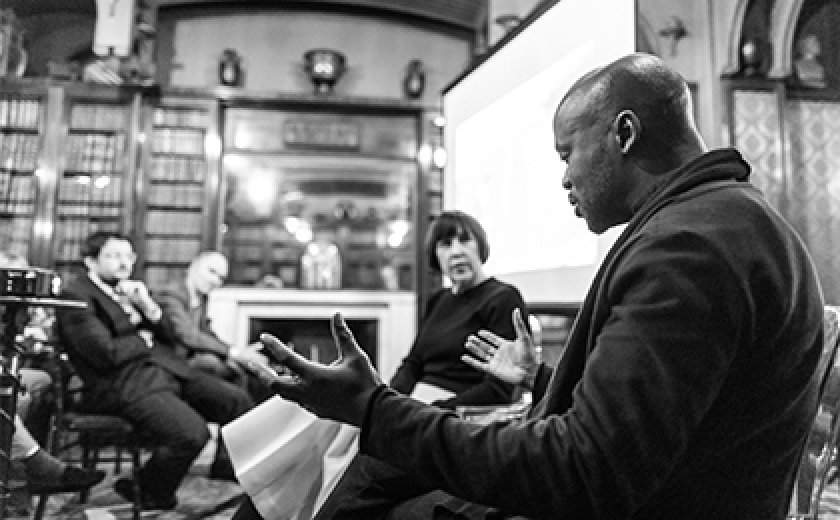 David Adjaye and Alice Rawsthorne in conversation