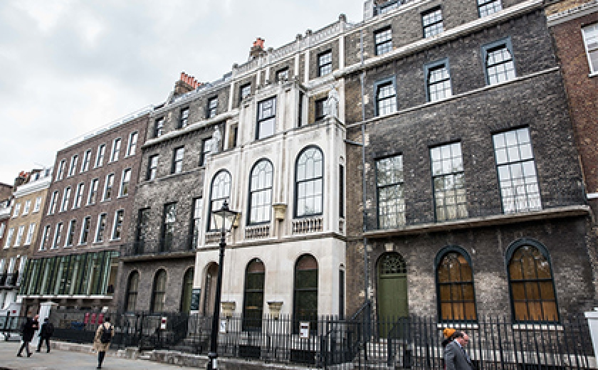 The Facade of the Soane Museum
