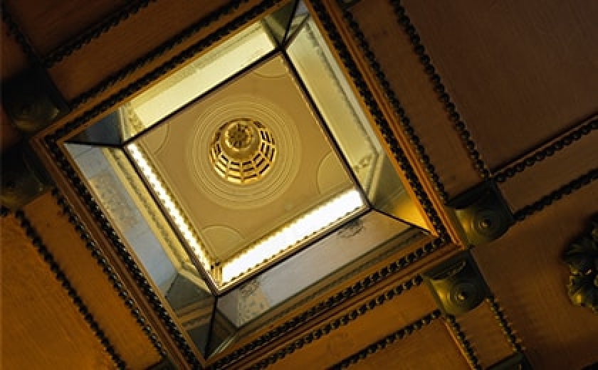 A Lantern Window at the Soane Museum as photographed by Helene Binet