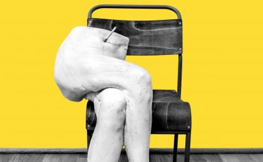 The cast PAULINE from Sarah Lucas' exhibition POWER IN WOMAN at the Soane