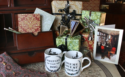 A selection of Christmas gifts from the Soane Shop