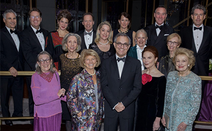 Guests at the Soane Foundation Gala
